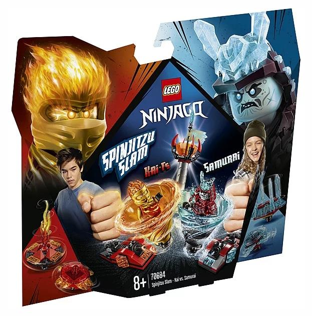 LEGO Ninjago 70681 Spinjitzu Slam - Kai vs. Samurai