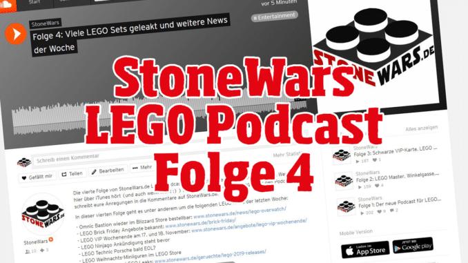 StoneWars LEGO Podcast Folge 4