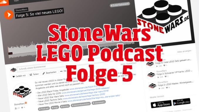 LEGO Podcast Folge 5