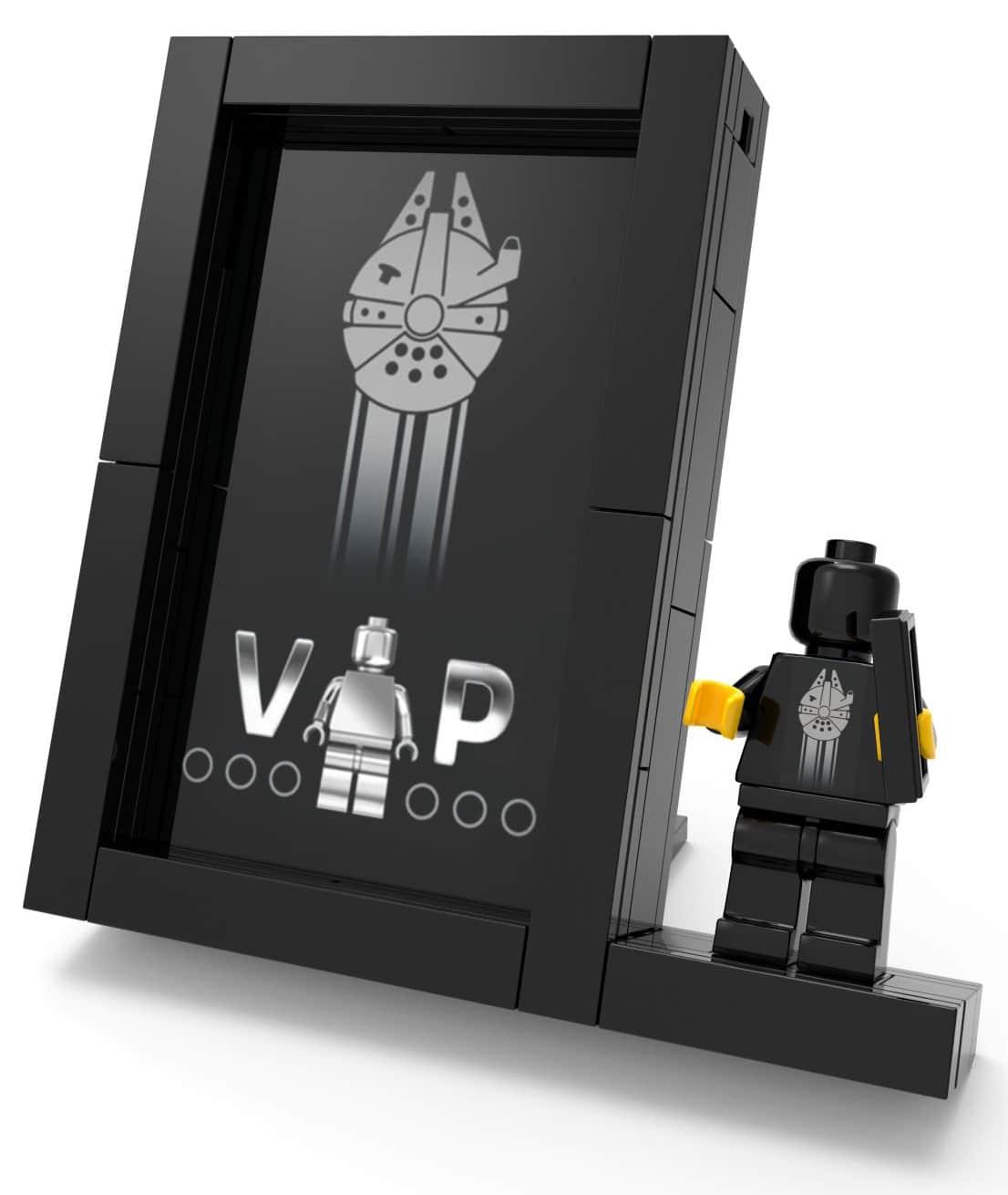 LEGO schwarze VIP-Karte Display Stand 5005747
