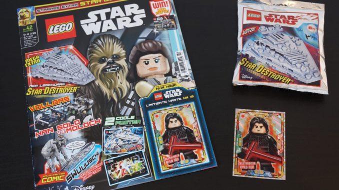 LEGO Star Wars Magazin Ausgabe 42 Dezember 2018 Review