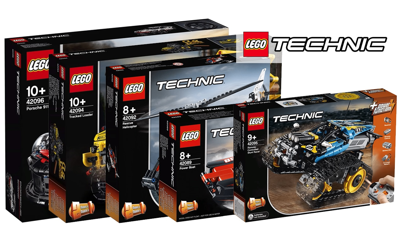 LEGO Technic 2019: Alle Gerüchte und Leaks