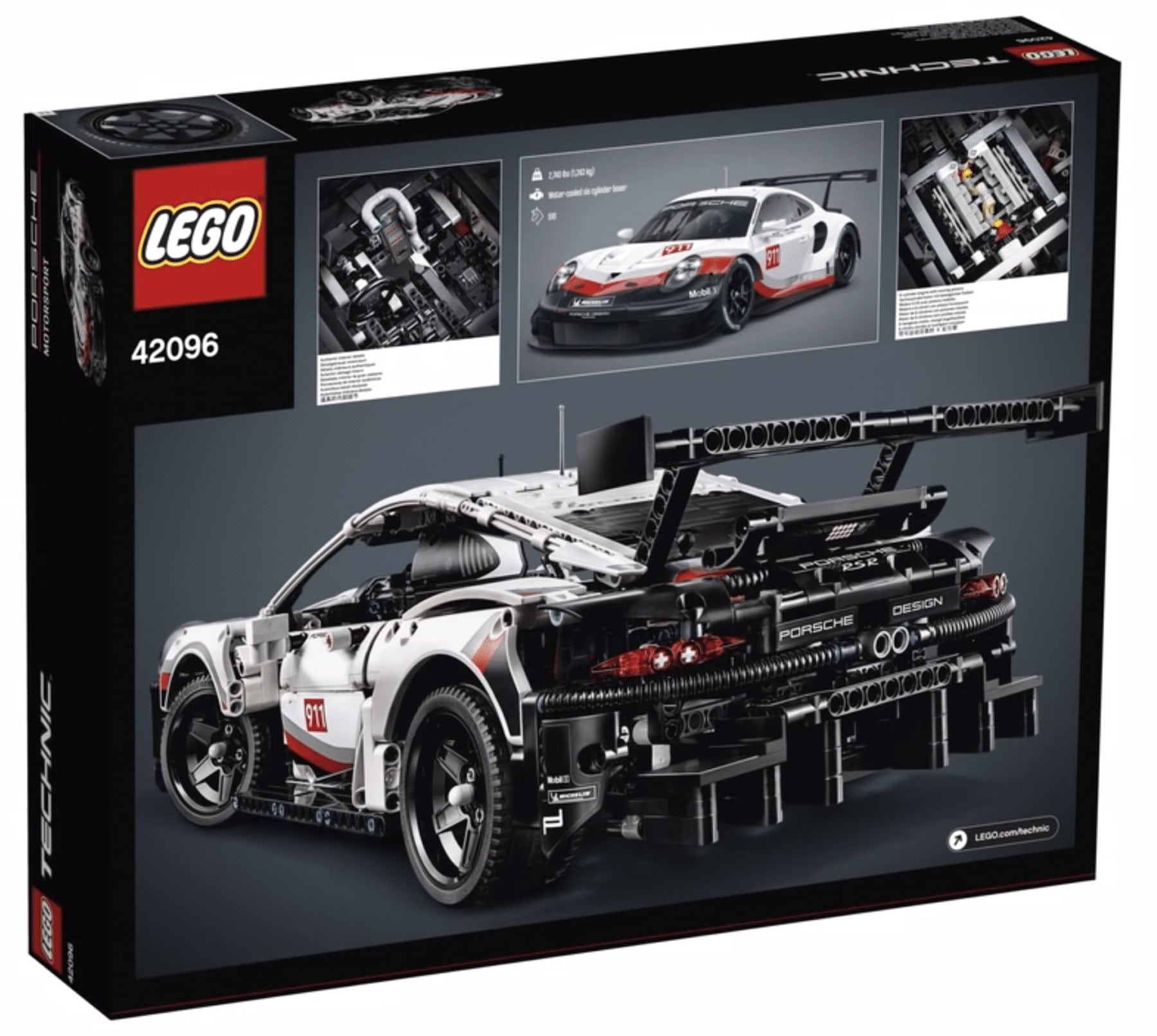 lego 42096 technic porsche 911 rsr erste bilder aufgetaucht. Black Bedroom Furniture Sets. Home Design Ideas