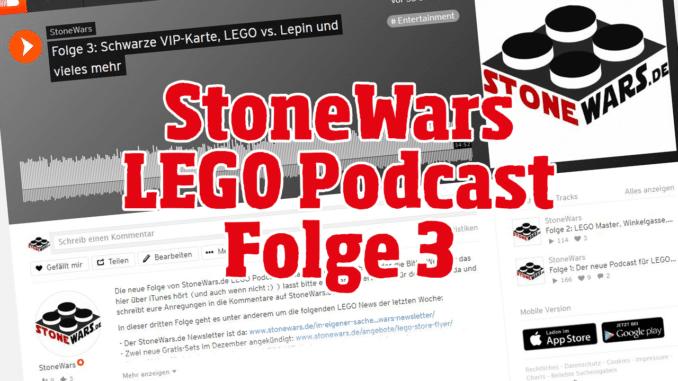 StoneWars.de LEGO Podcast Folge 3