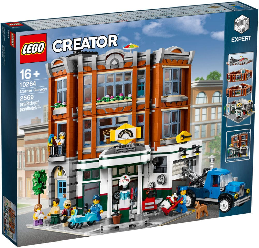 LEGO 10264 Eckgarage Modular Building Box
