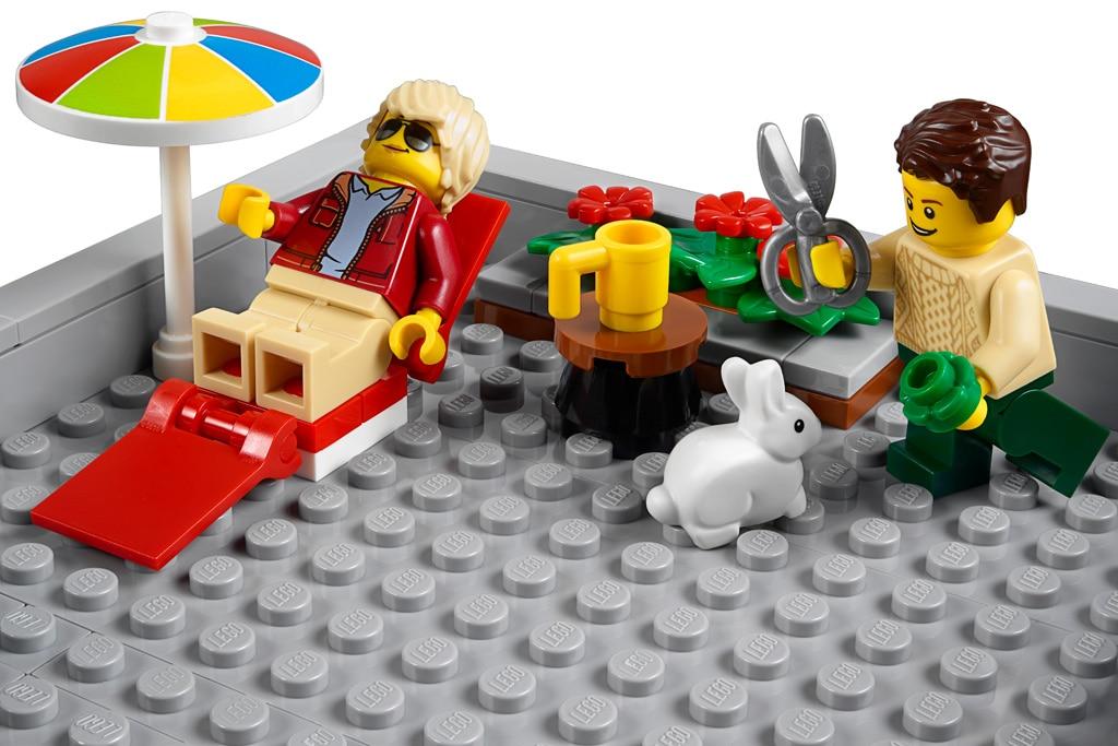 LEGO 10264 Eckgarage Modular Building Dachterasse