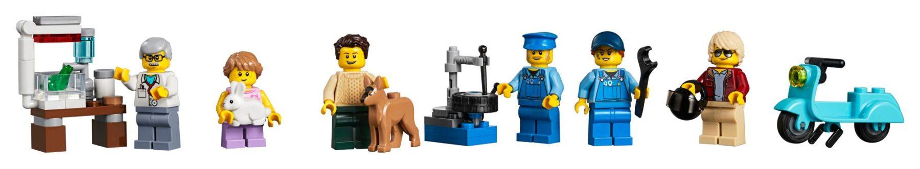 LEGO 10264 Eckgarage Modular Building: Minifiguren