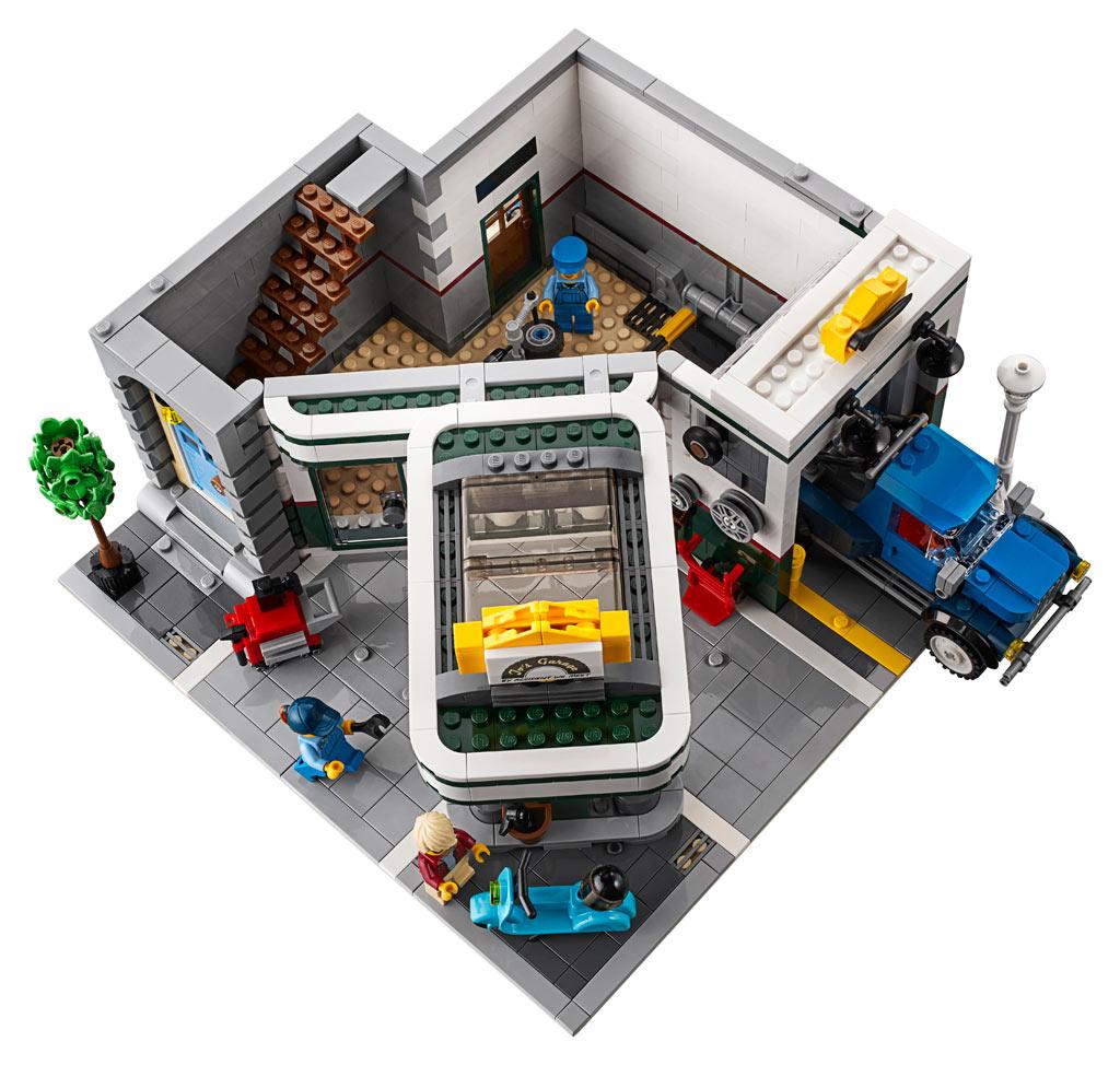 LEGO 10264 Eckgarage Modular Building Erdgeschoss mit Werkstatt