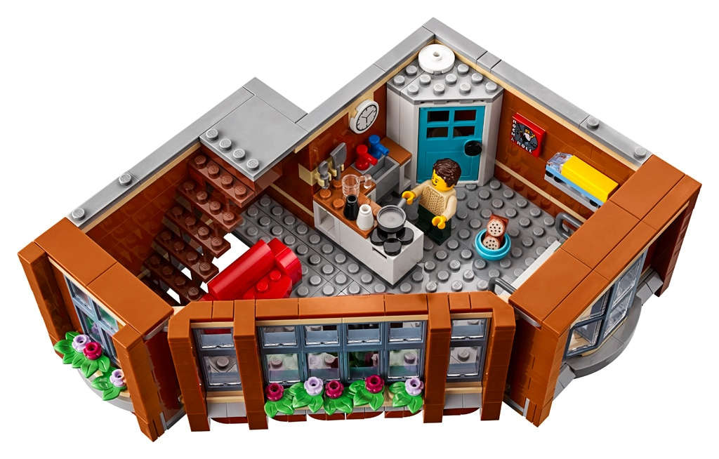 LEGO 10264 Eckgarage Modular Building zweiter Stock mit Apartment
