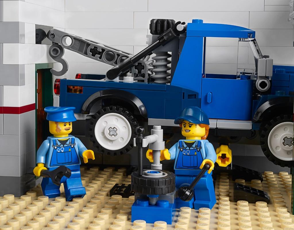 LEGO 10264 Eckgarage Modular Building Werkstatt