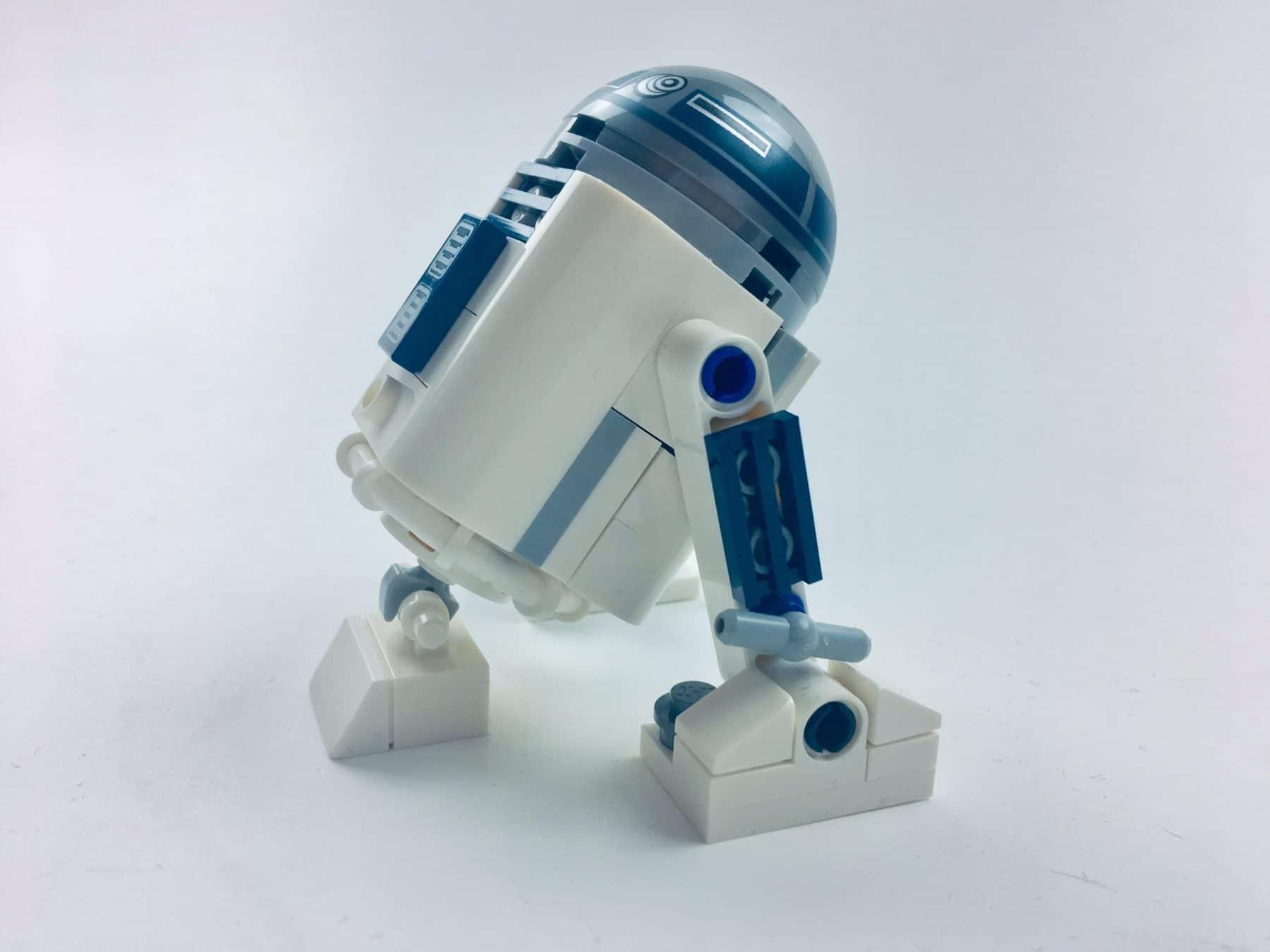 LEGO 30611 R2-D2 von der Seite