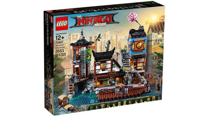 LEGO 70657 Ninjago City Hafen Angebot