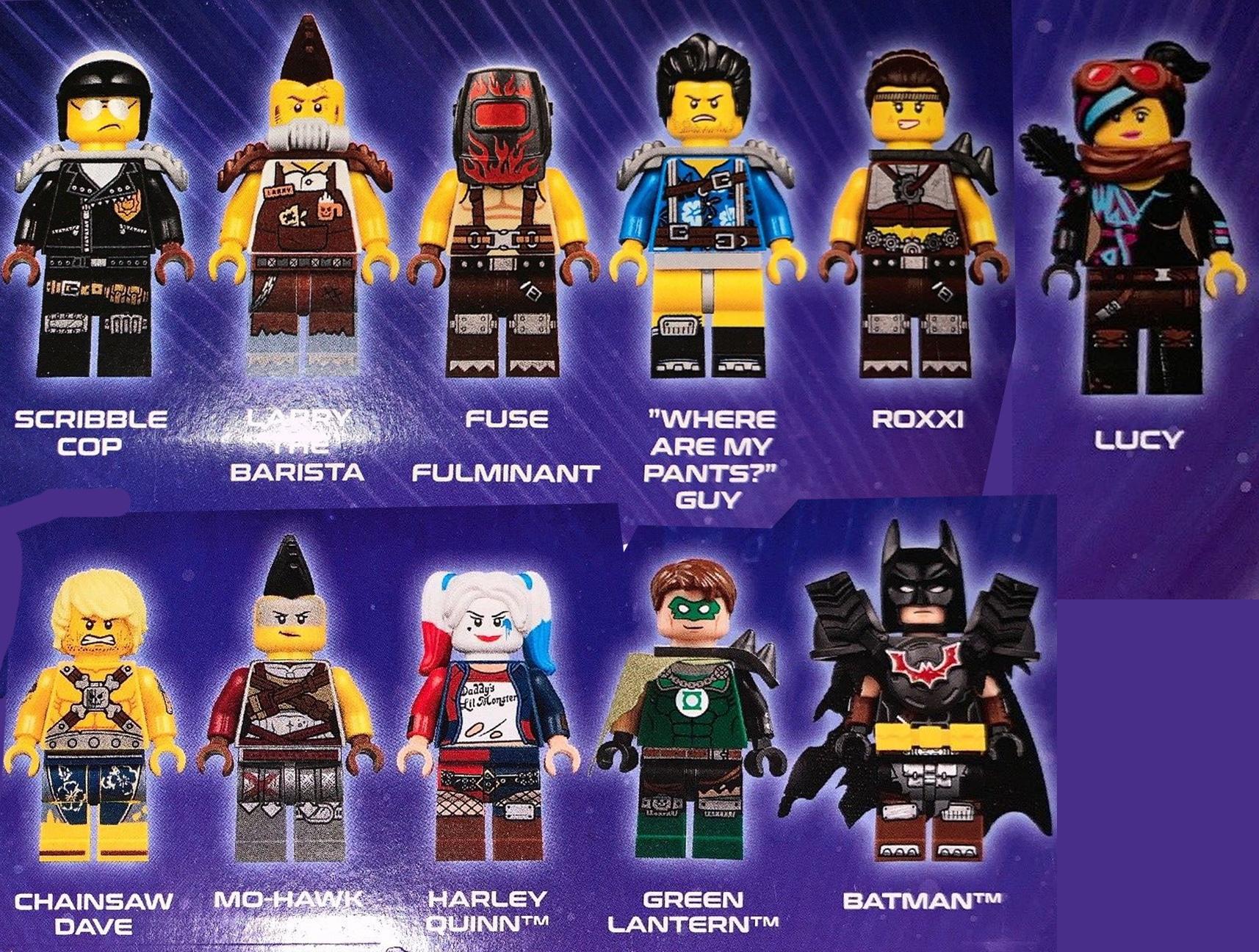 LEGO 70840 Minifiguren