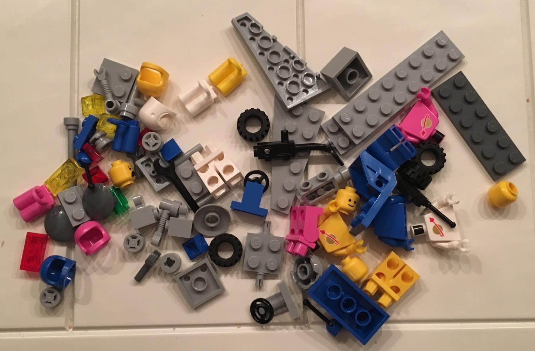 LEGO 70841 Review: Alle Einzelteile