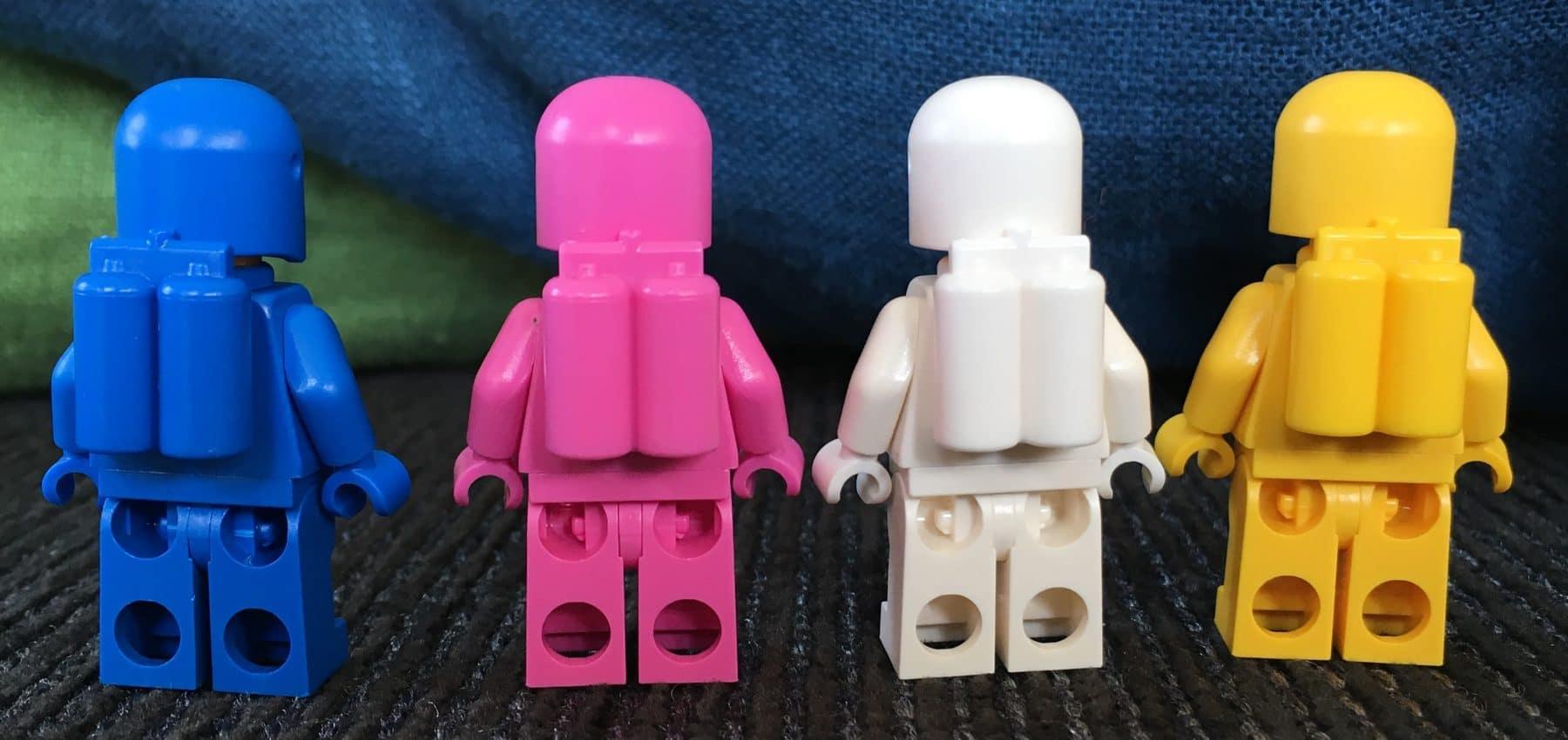 LEGO 70841 Bennys Weltraum-Team Minifiguren hinten