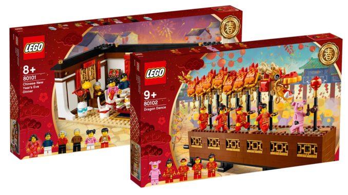 LEGO 80101 und 80102