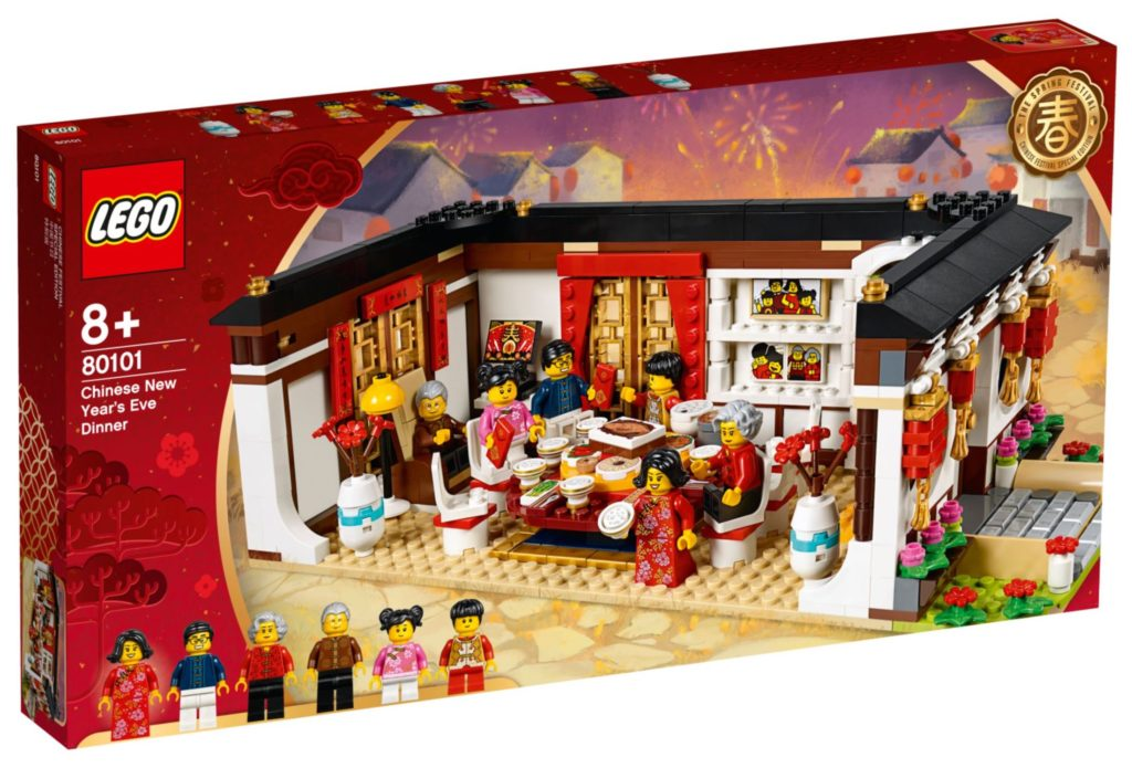 LEGO 80101 Chinese New Years Eve Dinner Box