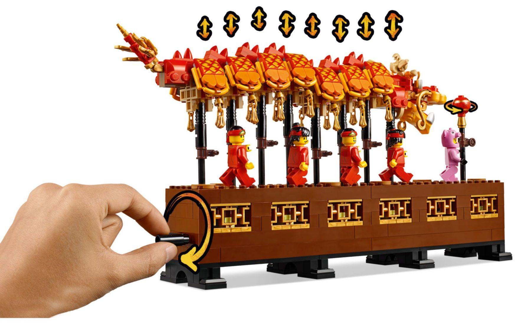 LEGO 80102 Dragon Dance Mechanismus