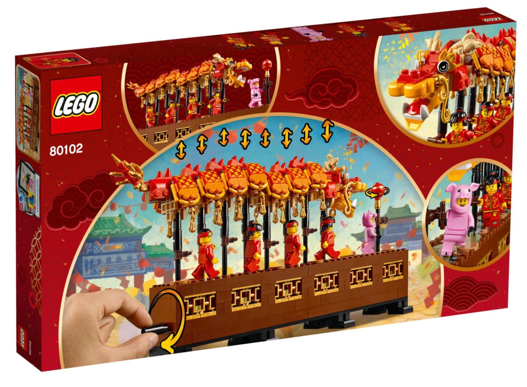LEGO 80102 Dragon Dance Box