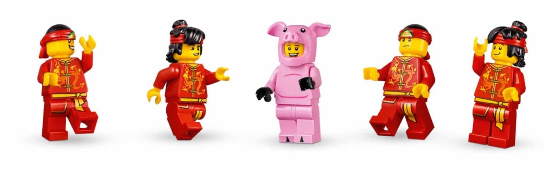 LEGO 80102 Dragon Dance Minifiguren