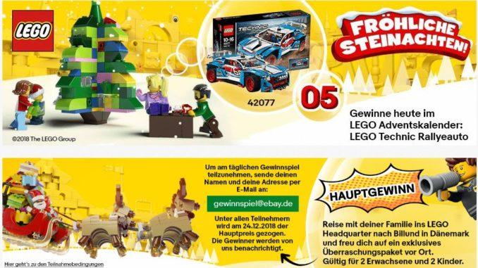 LEGO Adventskalender Ebay