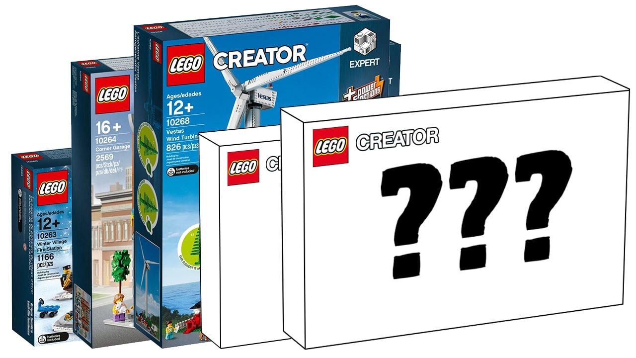 LEGO Creator Expert 2019: Welche Sets könnten uns erwarten?