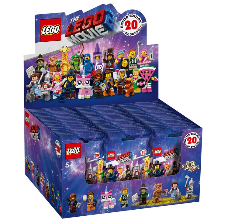 LEGO 71023 Minifiguren zu The LEGO Movie 2: Display Box