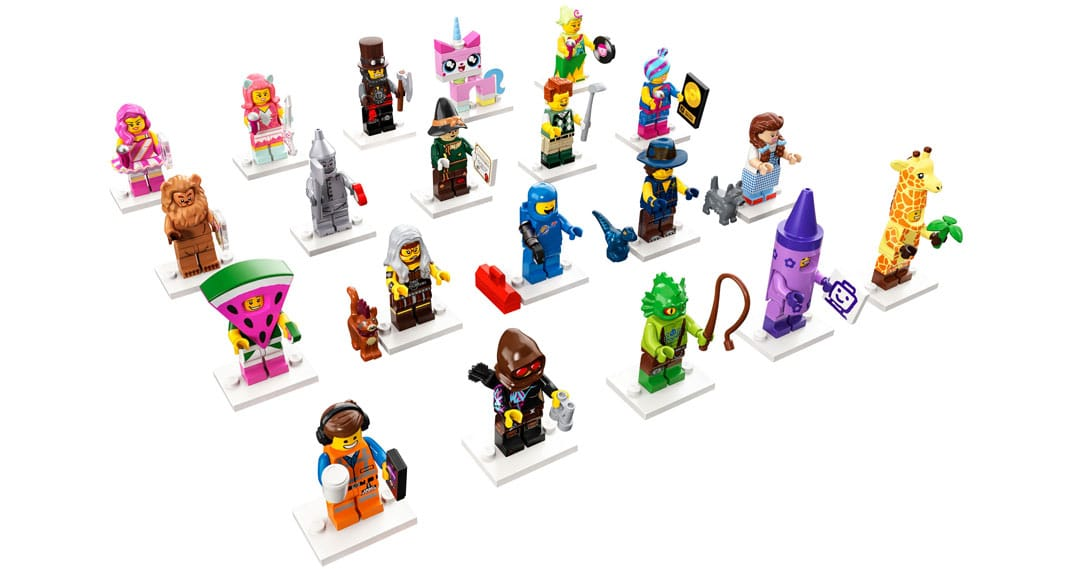 LEGO 71023 Minifiguren zu The LEGO Movie 2