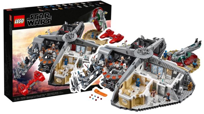 LEGO Star Wars 75222 Verrat in Cloud City