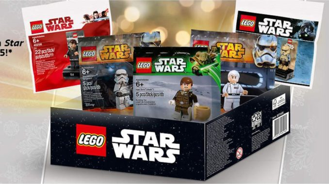 LEGO Star Wars Minifiguren Box in den USA