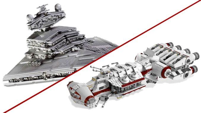 LEGO Star Wars UCS Sets 2019: Sternenzerstörer und Tantive IV?