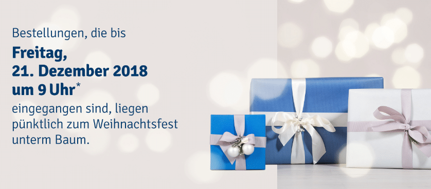 MyToys Bestellfrist Weihnachten 2018