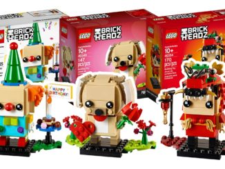 Neue LEGO Seasonal BrickHeadz