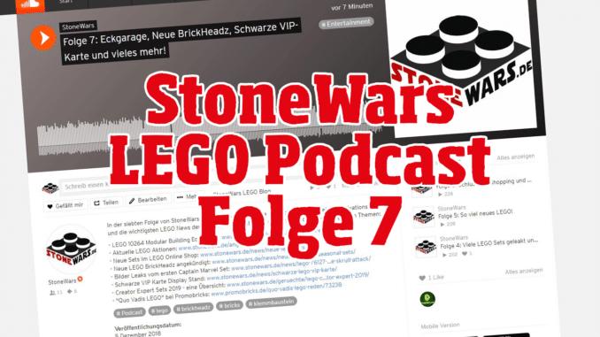 StoneWars.de LEGO Podcast Folge 7