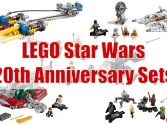 LEGO Star Wars 20th Anniversary Sets