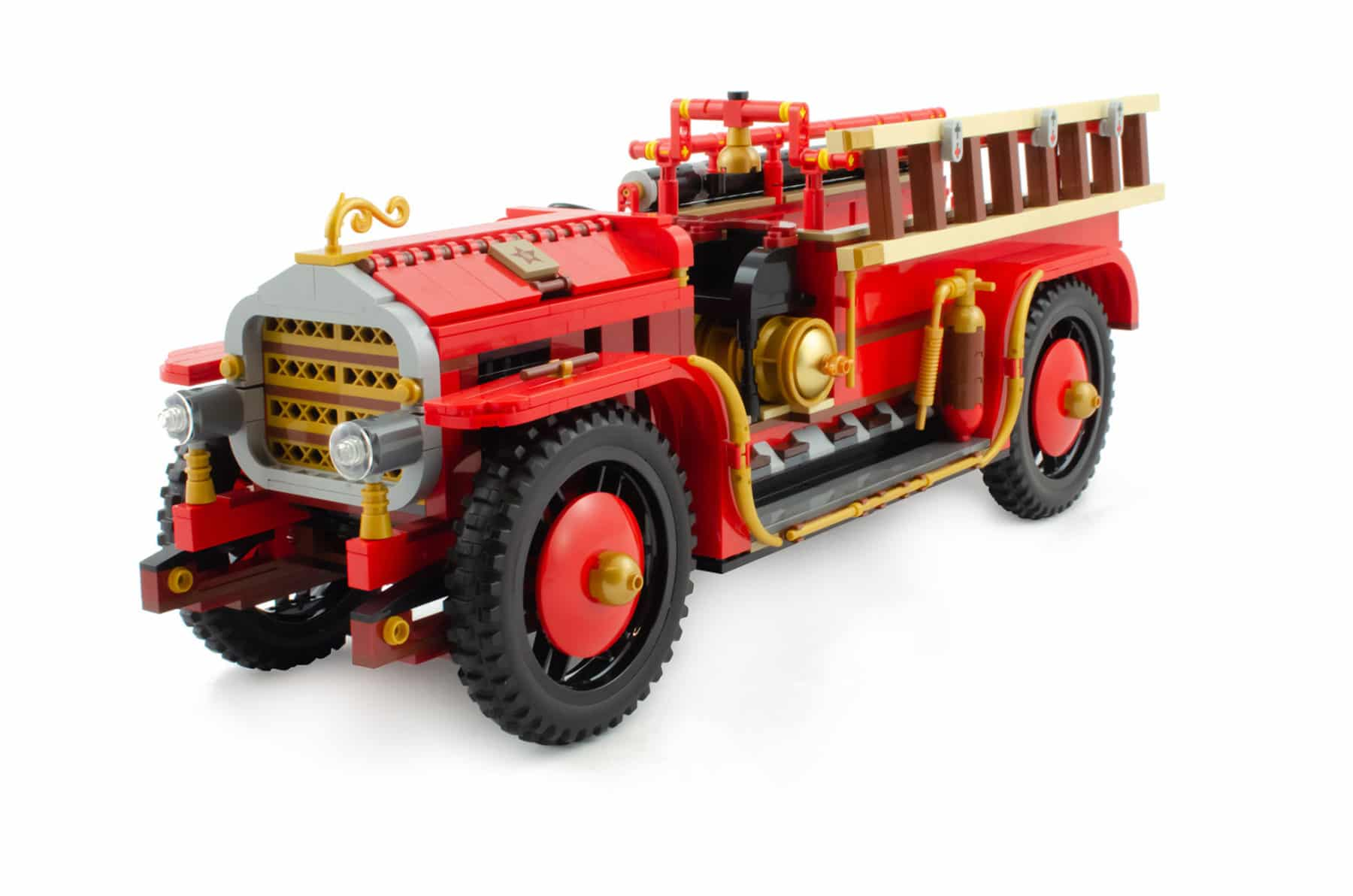 Bricklink AFOL Designer Program: Antique Fire Engine