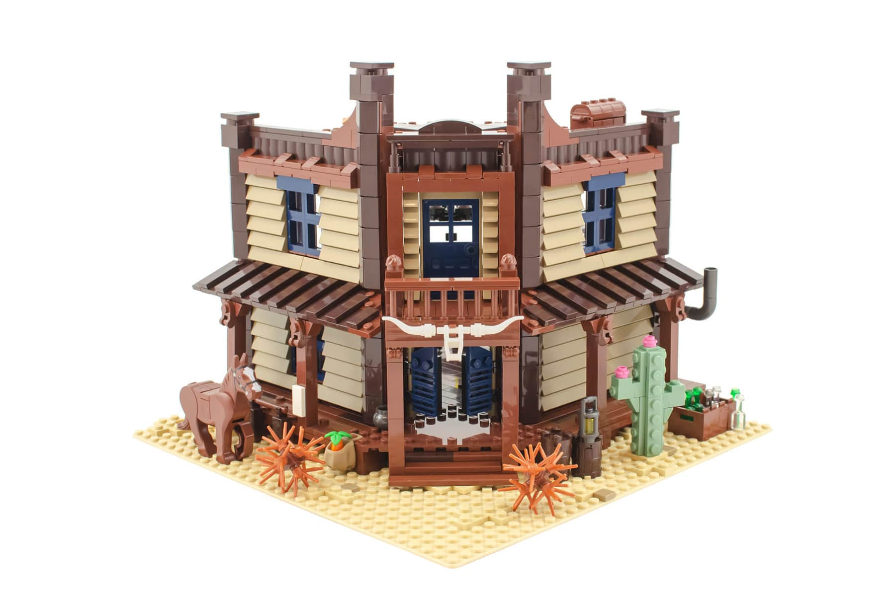 Bricklink AFOL Designer Program: Wild West Saloon