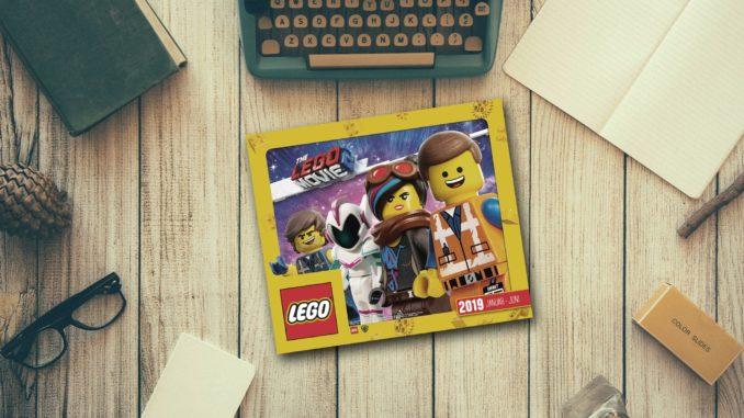 Deutscher LEGO Katalog 2019
