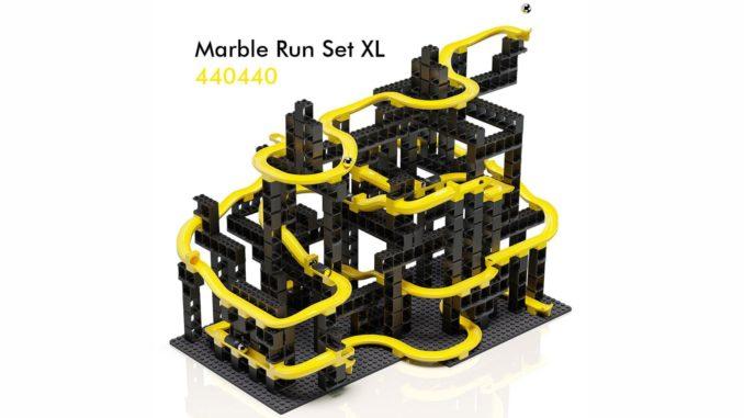 Hubelino LEGO kompatible Kugelbahn