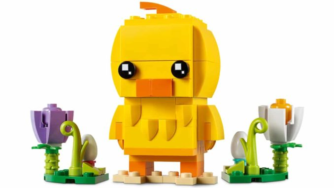 LEGO 40350 Easter Chick BrickHeadz