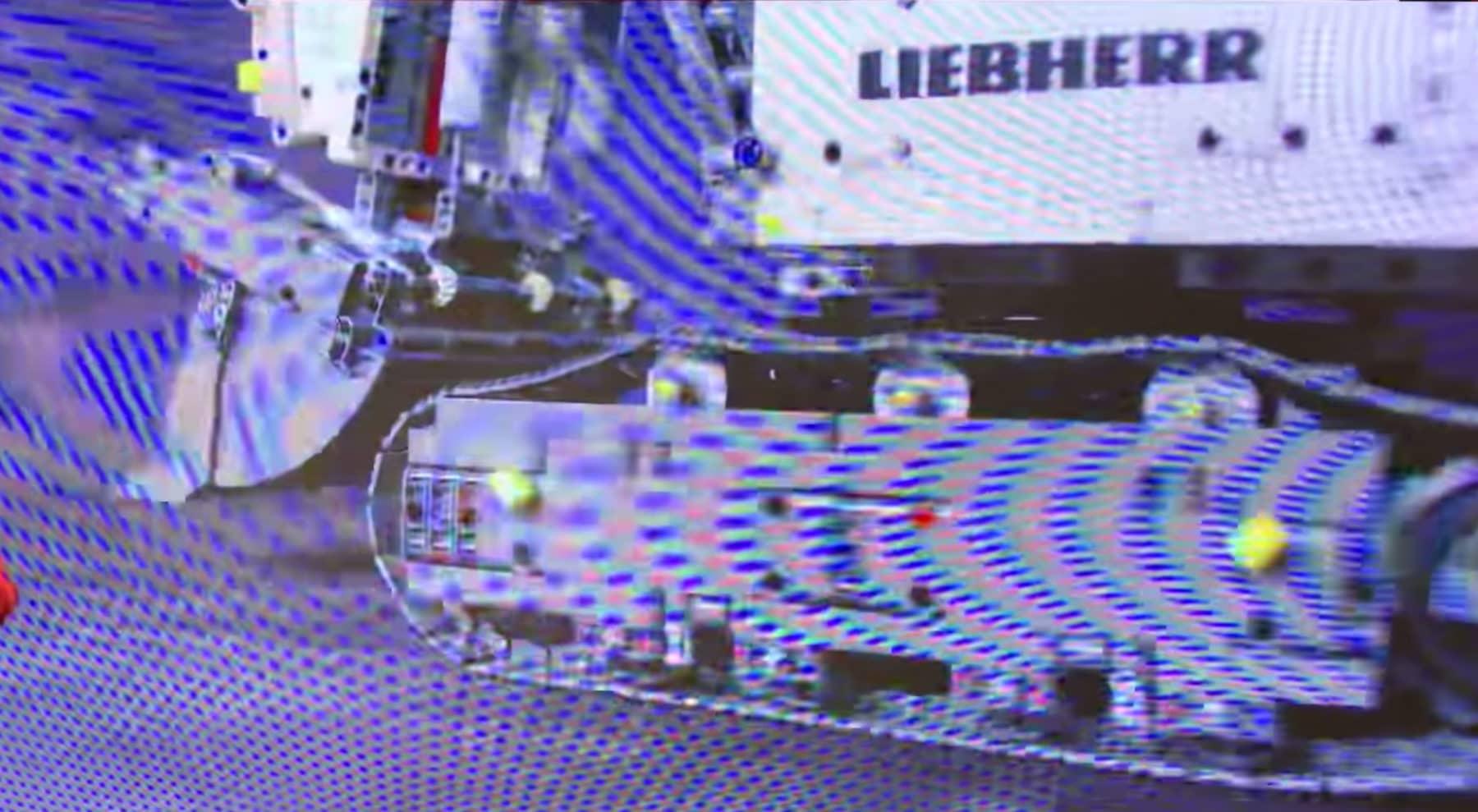LEGO 42100 Liebherr R 9800 Bagger Ketten