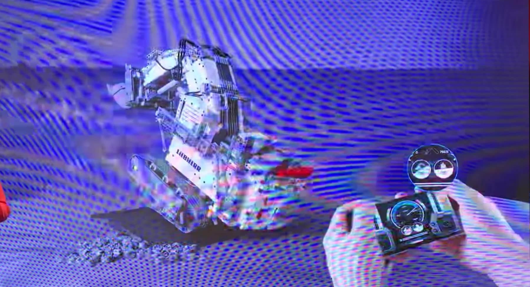 Lego Technic 42100 Liebherr R 9800 Bagger Mit 7 Motoren Vorgestellt