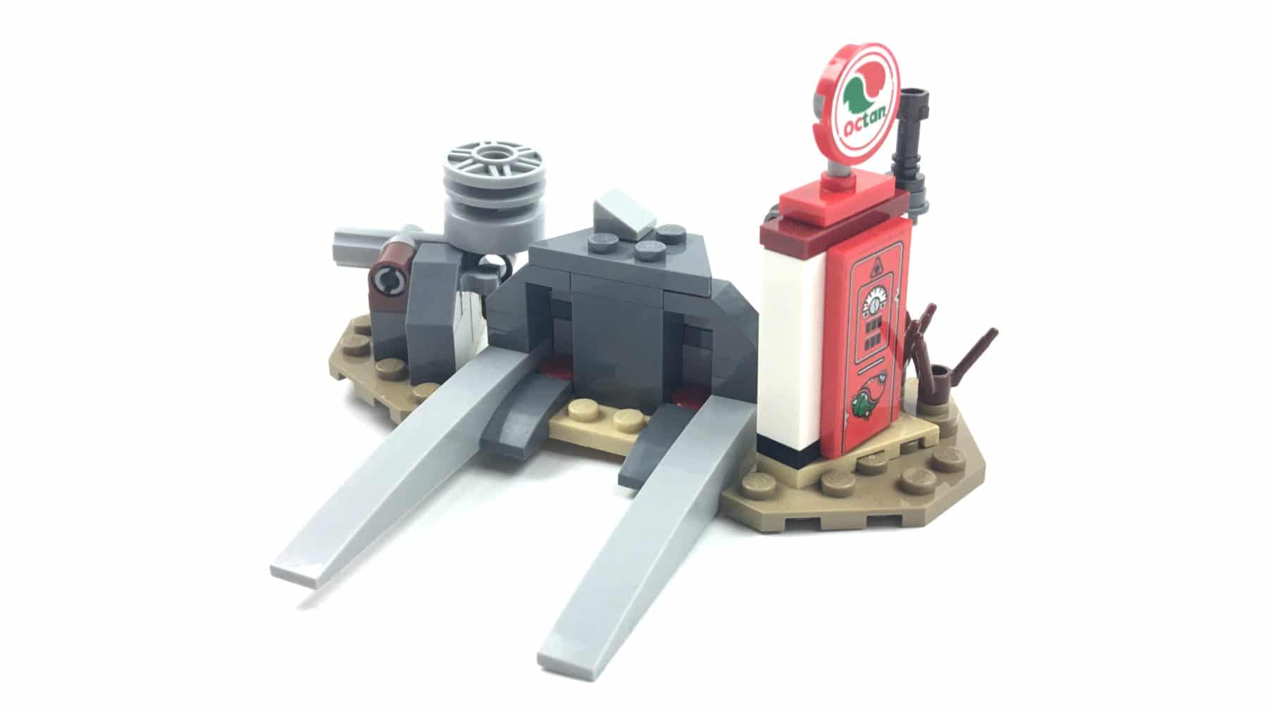 LEGO 70823 Emmets Dreirad Tankstelle