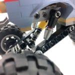 LEGO 70829 Emmets und Lucys Flucht-Buggy Federung
