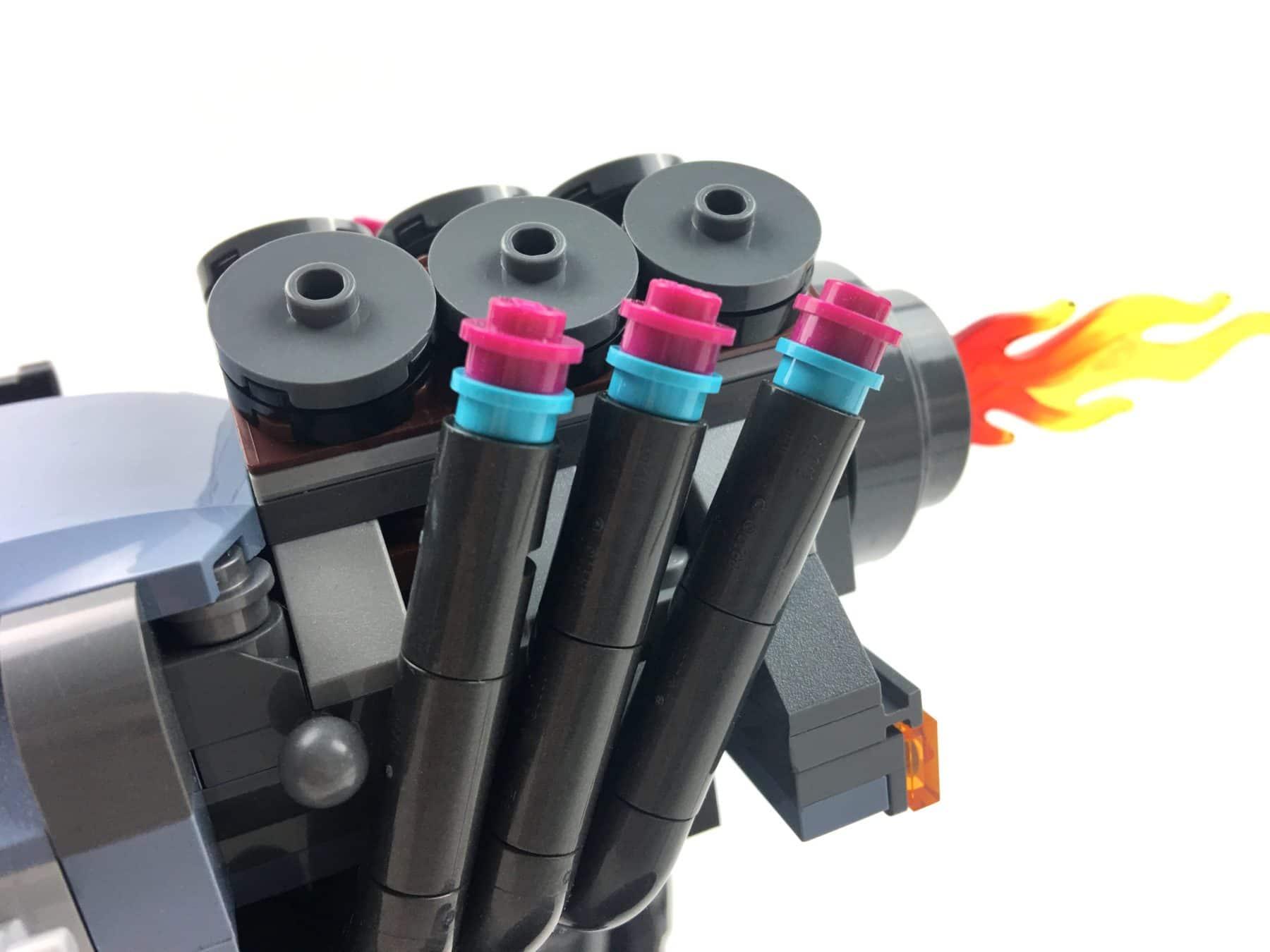 LEGO 70829 Emmets und Lucys Flucht-Buggy Motor