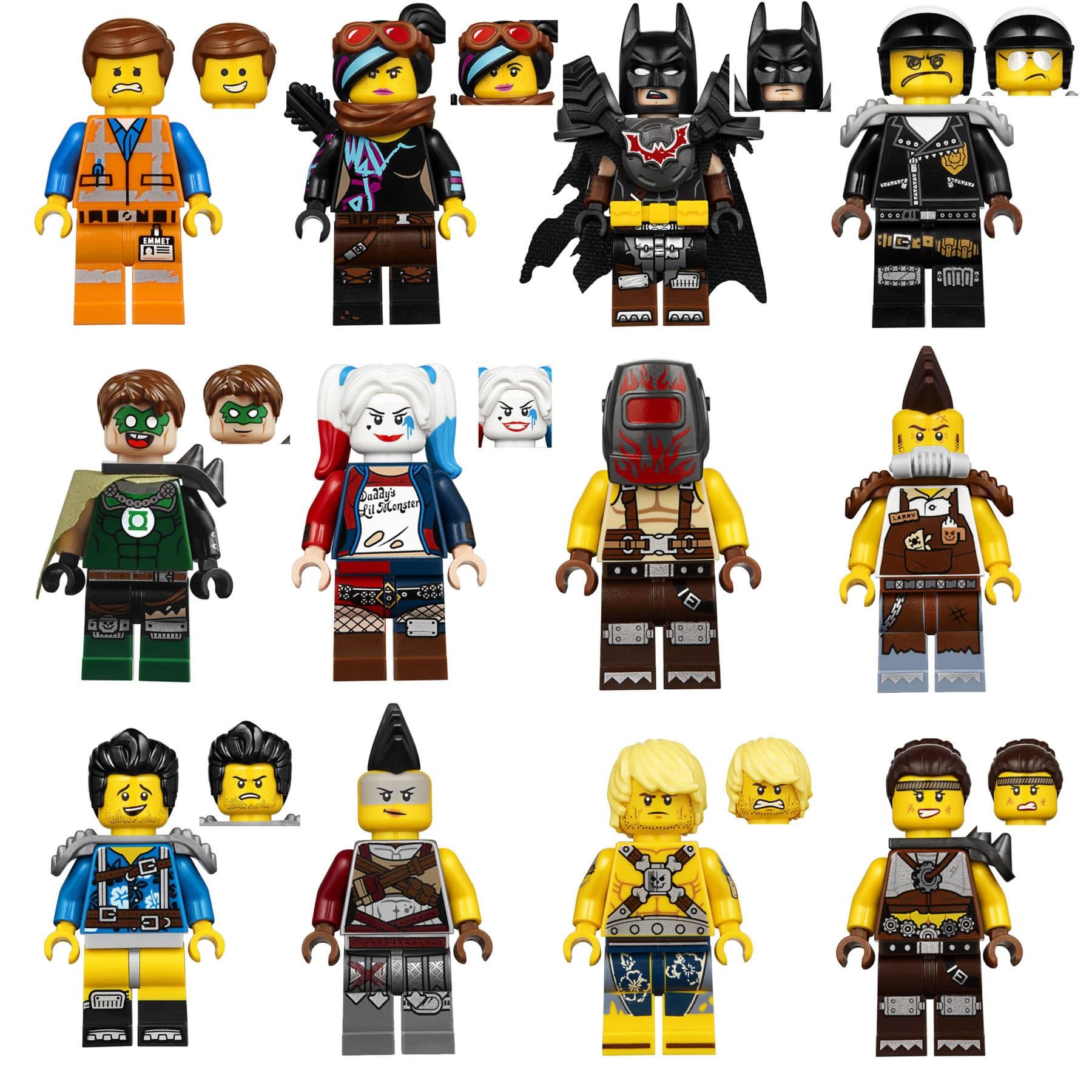 LEGO 70840 Apocalypseburg Minifiguren Übersicht