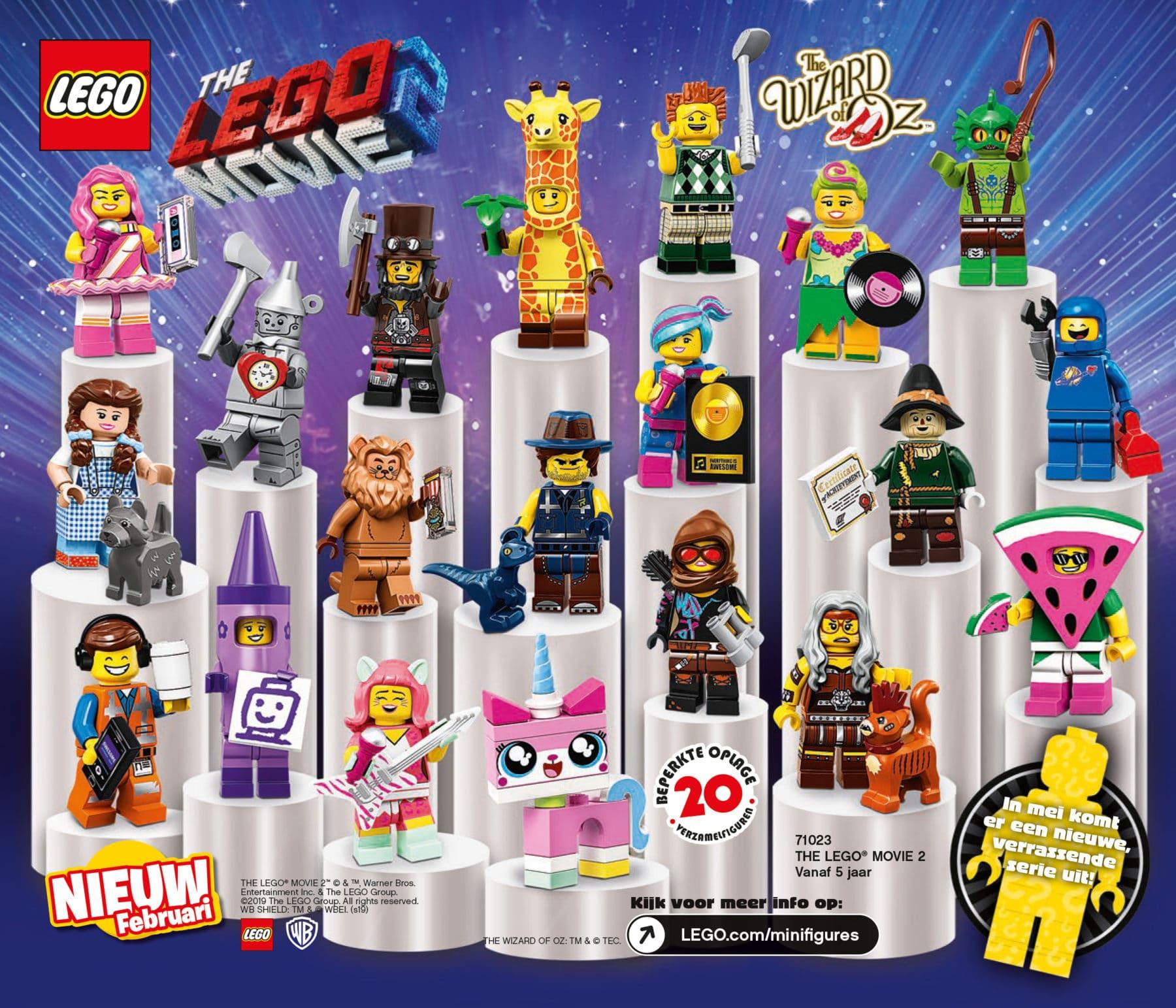 LEGO 71023 Minifiguren