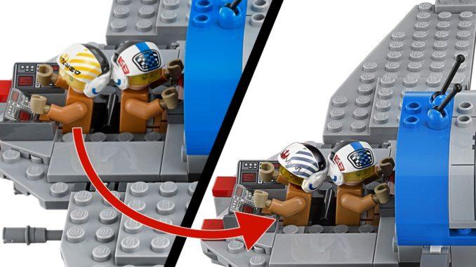 LEGO 75188 Resistance Bomber neuer Pilot