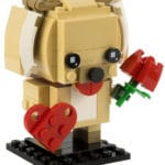 LEGO BrickHeadz 40349 Valentinstags-Welpe