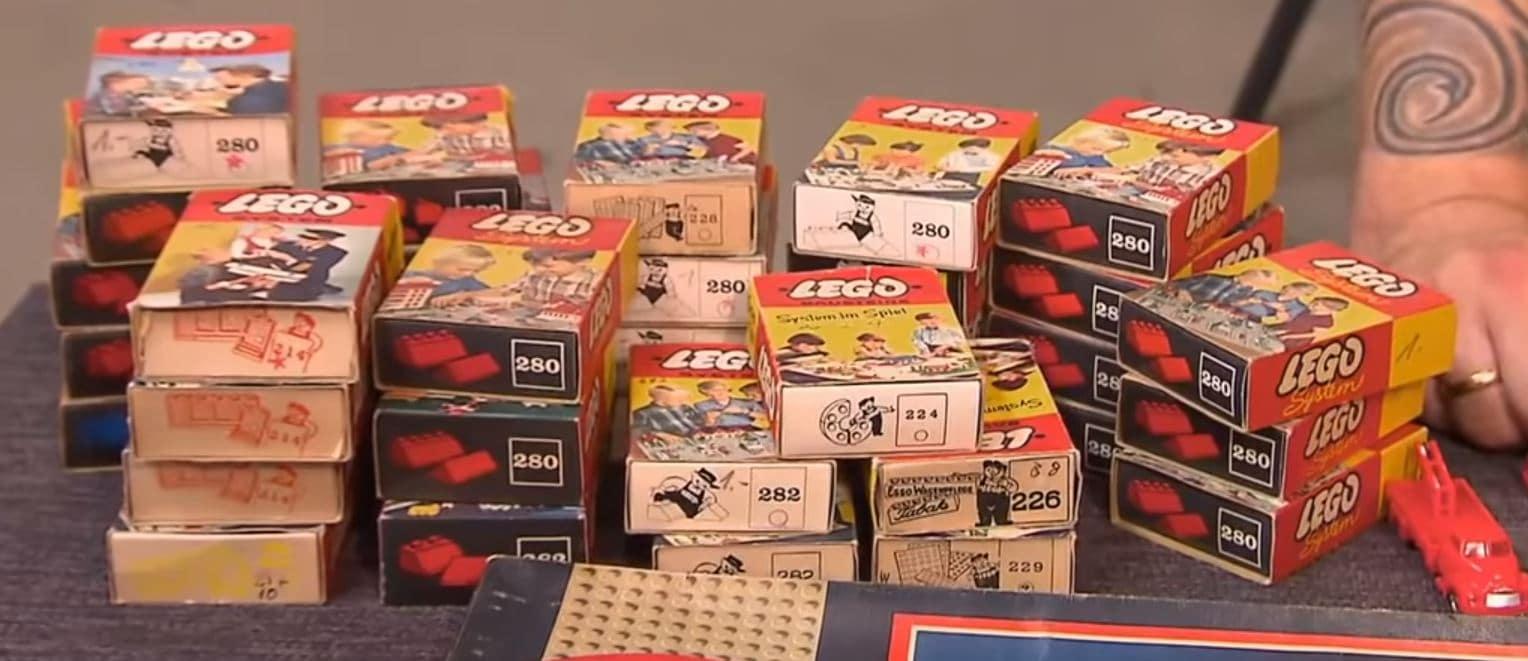 LEGO Ergänzungsboxen aus den 1950er Jahren
